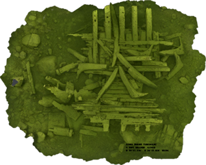 Indexpicture of the Cannonside Wreck